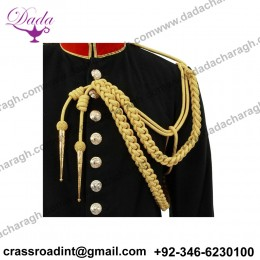 GENUINE U.S. MARINE CORPS DRESS AIGUILLETTE - SYNTHETIC GOLD (MILITARY ISSUE)
