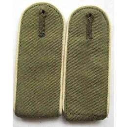 Africa Korps enlisted mans shoulder boards,