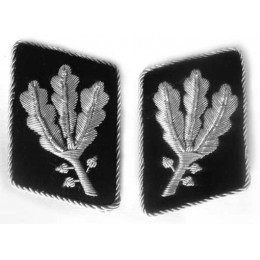 Allgemeine SS officers collar tabs