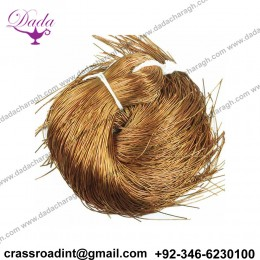 0.5MM Thinnest French Metallic Wire, French Wire, Bullion Wire in Honey Color