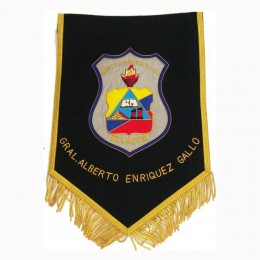 Custom Printed , Machine & Hand Embroidered Wire or Silk  Pennants, Banners, Flags For Sports Clubs , Military