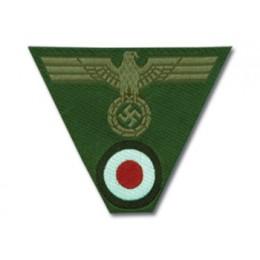 Bevo Insignia- M43 Army EM Cap Trapezoid
