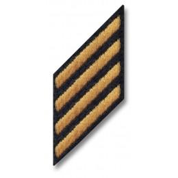 Female Army Blue Hash Marks