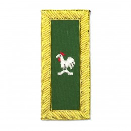 Knights Templar Captain General Rooster Embroidered Masonic Shoulder Board