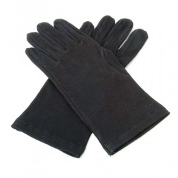 100% Cotton Quality Black Knights Templar Gloves