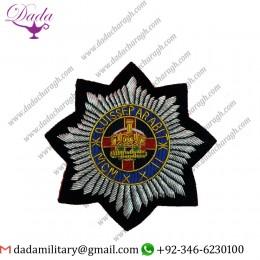 4th ,7th ROYAL DRAGOON GUARDS BLAZER Badge Wire Bullion Badge