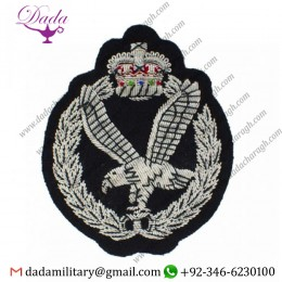 Blazer Badge army air corps embroidered bullion blazer badge