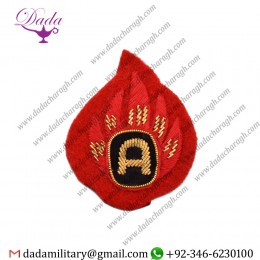 Blazer Badge At, Mess Dress, Badge Wire Bullion