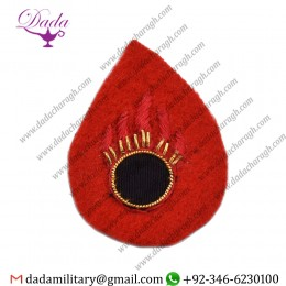 Blazer Badge Ato, Mess Dress, Badge Wire Bullion