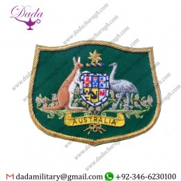 Blazer Badge Australian Coat Of Arms Blazer Badge