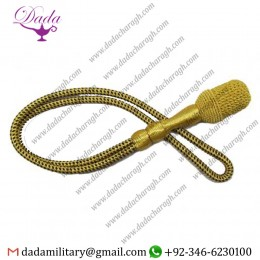 Customized Dress Cord For Italian 1937 Mvp Dagger Sword Knot Gold Black