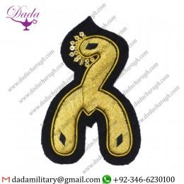 Customized Goldwork Equitation Instructors Badge Royal Horse Guards Dragoons Horse Artillery 472x512