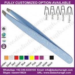 EYEBROW EYELASH SLANTED TWEEZERS DCM PAKISTAN