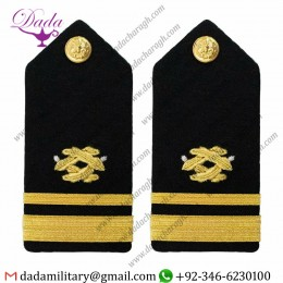 Braided Shoulder Board Navy Shoulder Board Lieutenant Junior Grade Civil Engineer - Female