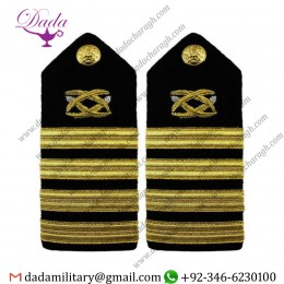 Braided Shoulder Board Navy Shoulder Board Female Captain Civil Engineer