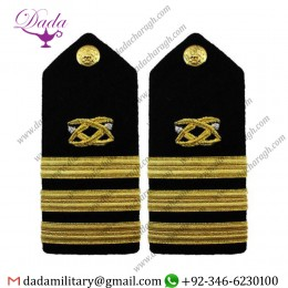 Braided Shoulder Board Navy Shoulder Board Female Commander Cdr Civil Engineer
