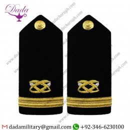 Braided Shoulder Board Navy Shoulder Board Female Ensign Civil Engineer