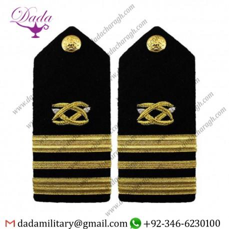 Braided Shoulder Board Navy Shoulder Board Female Lieutenant Commander Lcdr Civil Engineer