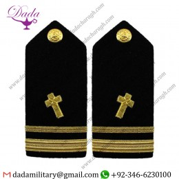 Braided Shoulder Board Navy Shoulder Board Female Lieutenant Junior Grade Ltjg Civil Engineer