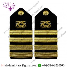 Braided Shoulder Board Navy Shoulder Board Male Captain Civil Engineer