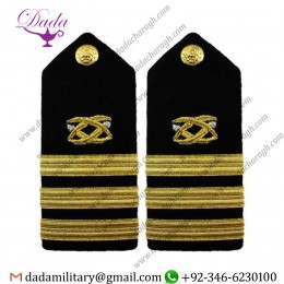 Braided Shoulder Board Navy Shoulder Board Male Commander Cdr Civil Engineer