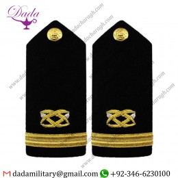 Braided Shoulder Board Navy Shoulder Board Male Ensign Civil Engineer