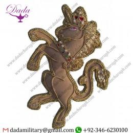 Military Uniform Accoutrements Royal Beasts Unicorn Tree Decoration