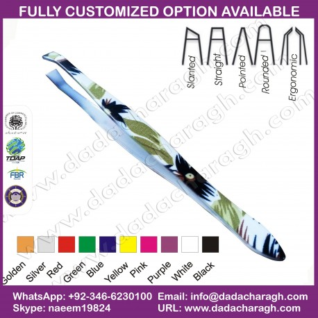 FLAT TWEEZER,COSTETIC TOOLS TWEEZER,WHOLESALE EYEBROW TWEEZERS