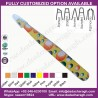 FLORAL TWEEZER,MULTI COLORS DOTS TWEEZER,SLANT TWEEZER,SLANTED   TWEEZERS