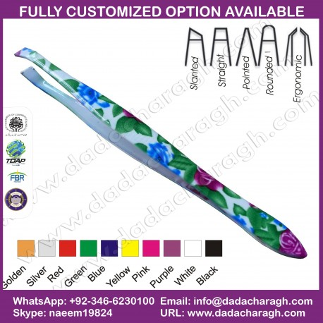 HAIR REMOVER PRODUCT TWEEZER,EYEBROW HAIR BEAUTY TWEEZER, SLANT TWEEZER,FLAT TIP TWEEZER