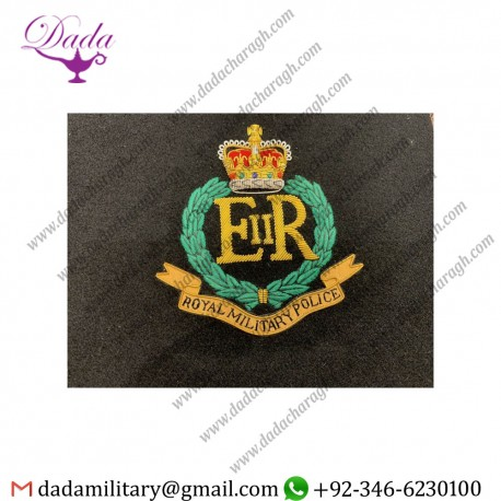 Uniform And Ceremonial Accoutrements Royal Military Police Blazer Badges