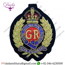 Uniform And Ceremonial Accoutrements Special Hand Embroidered Badge