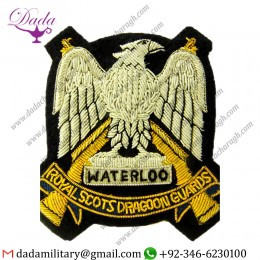 Uniform And Ceremonial Accoutrements Top Quality Hand Embroidery Badges