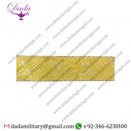 40mm Gallon Gold Entrefino Braid