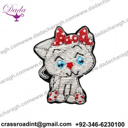 China Bullion Wire Hand Embroidery brooch Supplier