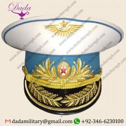 Air Force General Parade Soviet Russian Visor Hat