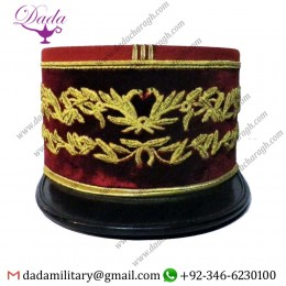 General Doctor's Cap, Hand Embroidery Cap