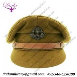 Fine Quality British WWii Officer Peaked Visor Cap
