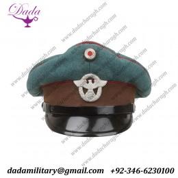 German Cap, Schutzpolizei Des Gemeinden Nco's Visor Cap