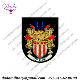 Blazer with Badge family crest