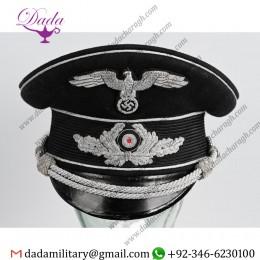 German Militaria, WWii Nazi German Judicial Officers Visor Hat