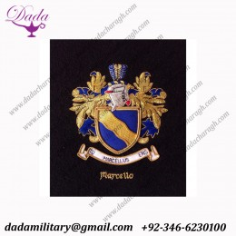 Beautiful Hand Embroidery Coats of Arms