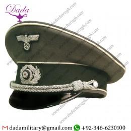 Visor Cap, German Army Infantry Officer Visor Cap