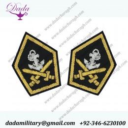 Blazer Badge Staff Officer Gorget