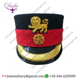 Forage Cap, WWf British Military King Crown Royal Lancaster Regiment Replica