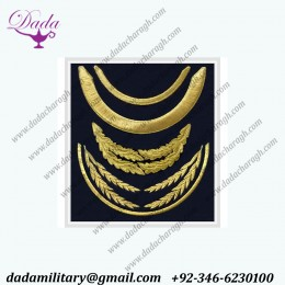 Machin Embroidery Military Police Air Force Peaks Visors