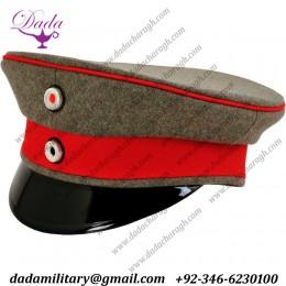 German Cap, Prussian Officer Visor Cap