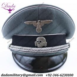 Uniform German Cap, German SS General Visor Cap