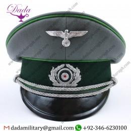 Visor Cap, German Mountain Troop Officer Visor Cap