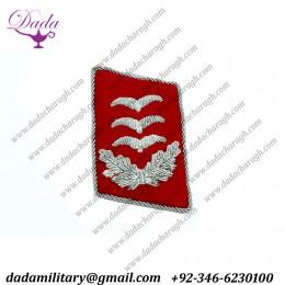 Collar Tab For Luftwaffe Flak Hauptmann